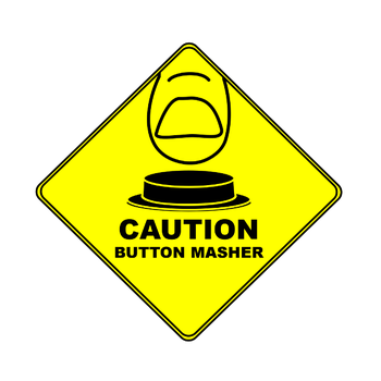 Caution: Button Masher by kasuga