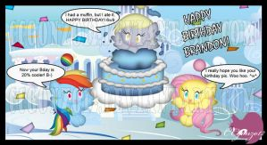 Cloudsdale Chao Bday Party by CCmoonstar23