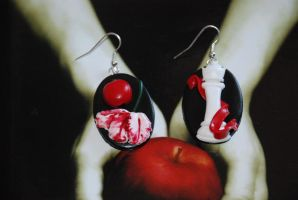 Twilight saga symbols earrings by Libellulina