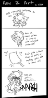 How 2 Art Tutorial by NuclearBandaid