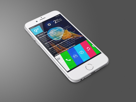 iWebOS Homescreen Preview by SkyJohn