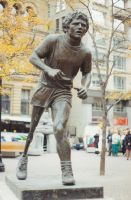 Terry Fox Statue by uglygosling