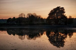 Evening reflections by CharmingPhotography
