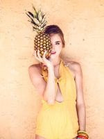 Pineapple Cutie by Queen-Kitty