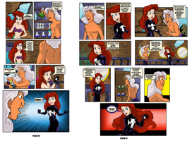 Ariel's  Symbiote Saga #10 by Hyperion720