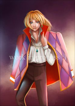 Monthly Artwork: Howl by nechnechmo
