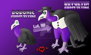 Plague Doctor Fakemon Family by JamalPokemon