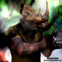 ROCKSTEADY ALIVE by dancarrtoonist