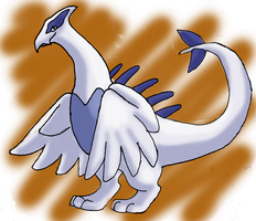 Lugia for NightAuctor by WooflesArt