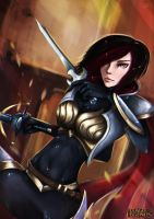 Fiora - The Grand Duelist by zhulikova
