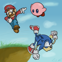 The Downside of Sonic in SSBB by Wonchop