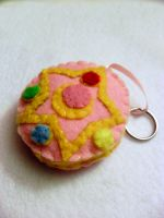 Sailor Moon Crystal Star Keychain by lkcrafts