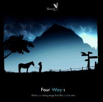Four Ways - Black by gamarai