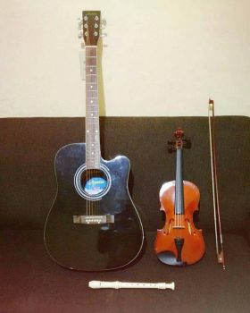 Family of Instruments by Mely14Arts
