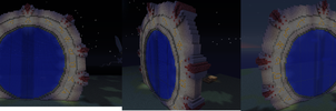 Stargate in minecraft by Travisat23