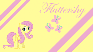 FlutterSmile Wallpaper by Silentmatten
