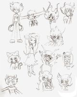 Derp_Pencil_Trolls_Doodles by Myen-Nyan