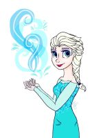 Elsa!! by sophisticatedghost