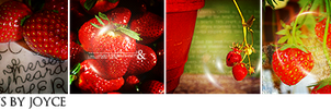 Strawberry Icons by memorabledesign