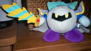 Meta Knight doll by KirbyIsLove