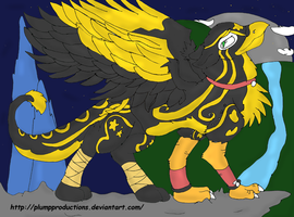 :My Gryphon Form: by PlumpProductions