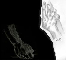 study of hands by IamINCOGNITO