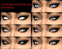SIMS4 MOD  Faded And Cat Eyes by r9xchaos
