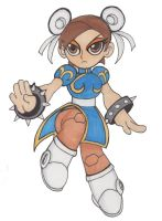 Robot Master Chun-Li by ShadowKitty777