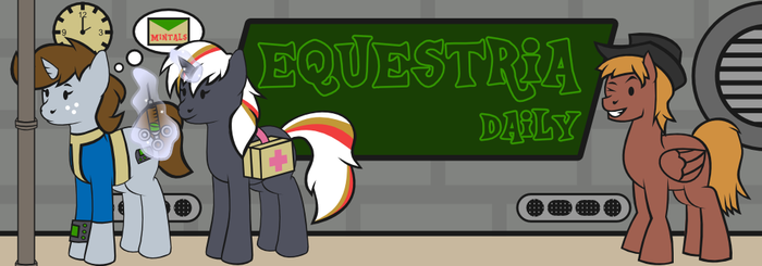 Fallout Equestria Daily Banner by MilekHippy