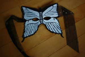 Butterfly Masquerade Mask by icevalkyrie7