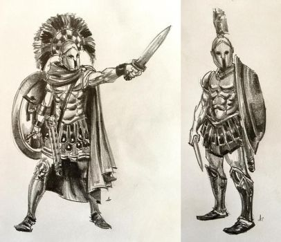 Ancient warriors by wi-flip-ff
