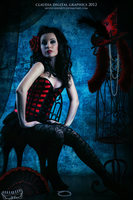 Burlesque Beauty by MysticSerenity