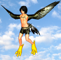 Montae the Harpy (DL READY!!) by soloya
