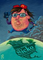 Michael Moore by gilderic