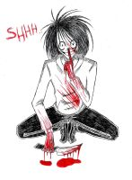 Jeff the killer by Julia261