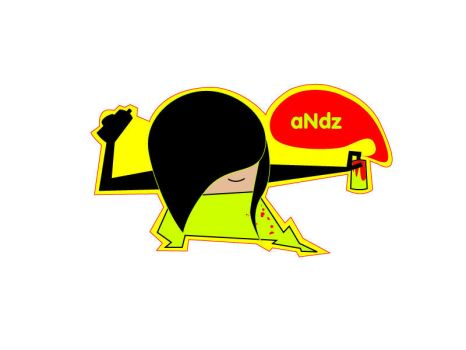 Andz sticker by perfectflow