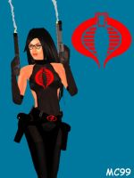 Baroness And Her Smoking Guns by The-Mind-Controller