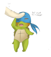 Baby Leonardo by draw4you1995