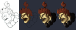 Akuma Progress by Madsoffs