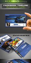 Facebook Timeline Business Card by ravirajcoomar
