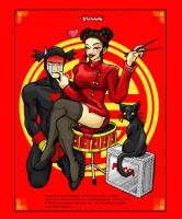 Pucca Fanart - a new twist by spikecomix