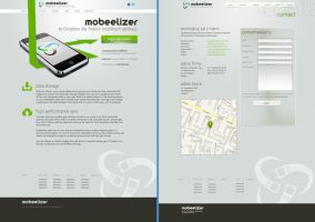 Mobeelizer website design by michalkosecki