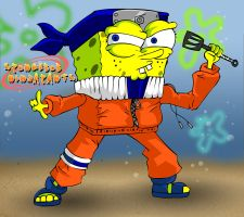 Spongebob Ninjapants by willgreg123