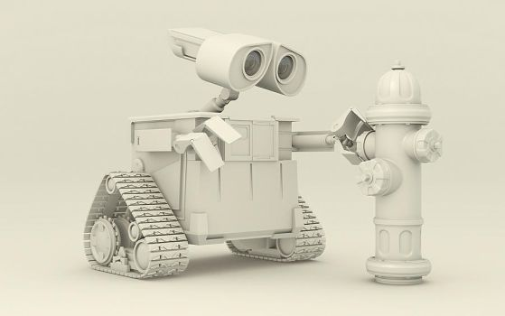 Wall-E by paomigs