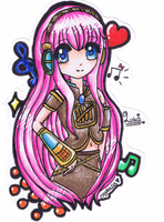 Art Trade- Megurine Luka by Crystalia68