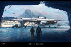 Arctic Hunter by Prasa