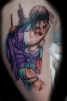 Shibari Girl Tattoo by JasonRhodekill