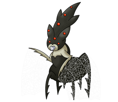 FAKEMON COMMISSION: 'Webress' by PamtreWC