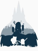 Ice King Silhouette by ToastMonsters