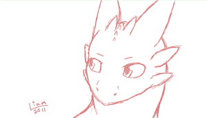 Toothless sketch by BritishNicky